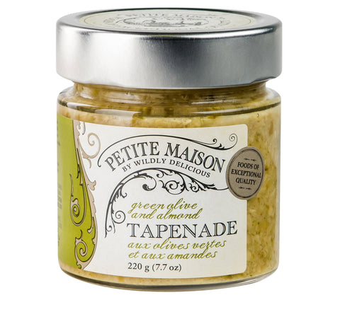 Green Olive and Almond Tapenade | Tapenade aux Olives Vertes et aux Amandes