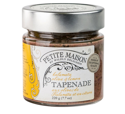 Black Olive and Lemon Tapenade | Tapenade aux olives de kalamáta et au citron