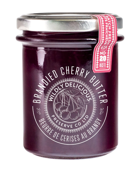 BRANDIED CHERRY BUTTER | BEURRE Á LA CERISE ET AU BRANDY