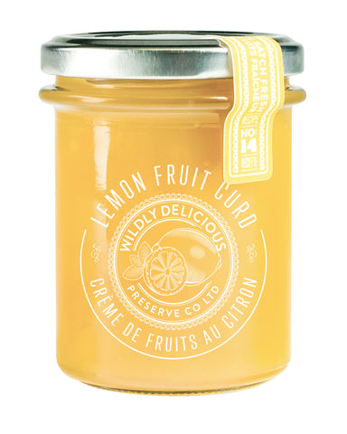 Lemon Fruit Curd | Crème de fruits au citron