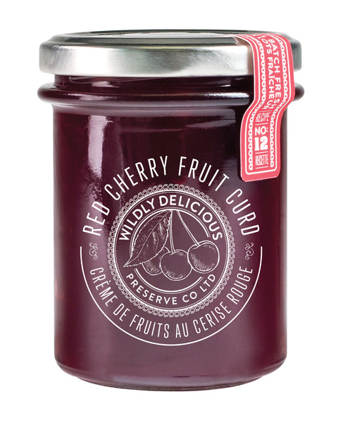 Red Cherry Fruit Curd | Crème de fruits à la cerise rouge