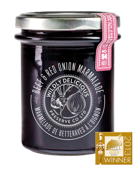 Beet & Red Onion Marmalade | Marmelade de bettrave et oignons rouges