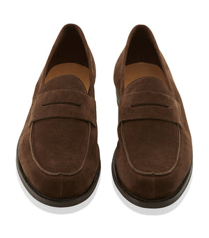 Brand New John Lobb Campus 12 - Dark Brown Suede