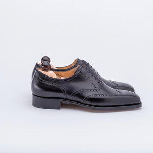 Brand New Vass Full Brogue oxford - Dark Brown Calf