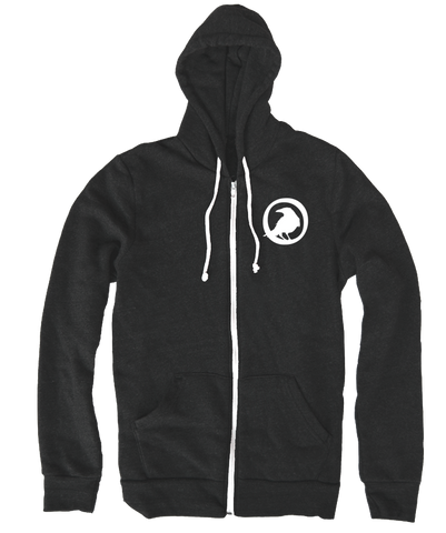Crowfall Emblem Zip Up Hoodie