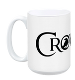 Crowfall Logo Mug WHITE