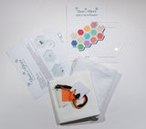 "Snowman Coaster Kit- includes 2 1/2""  Hexagon Template"