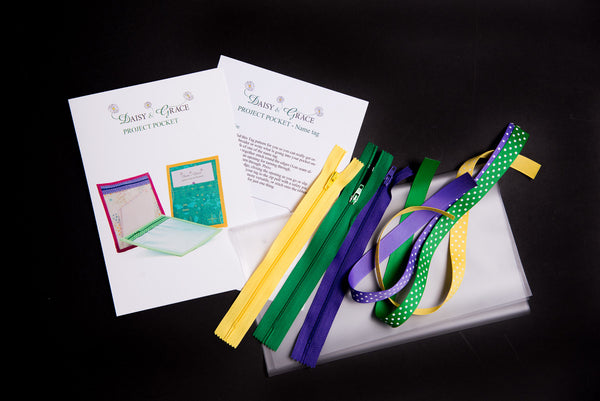 Project Pocket Set- Purple/Green/Yellow