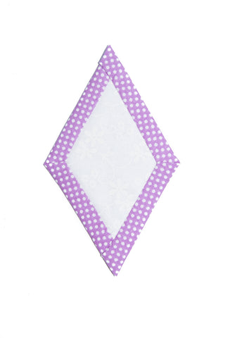 Quilt as you go Small Diamond template 1 3/4""