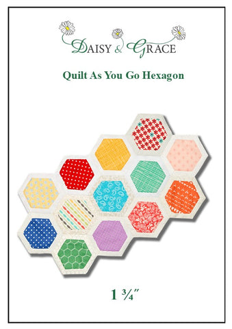 Quilt As You Go Template - 1 3/4""