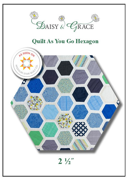 Quilt As You Go Template- 2 1/2""