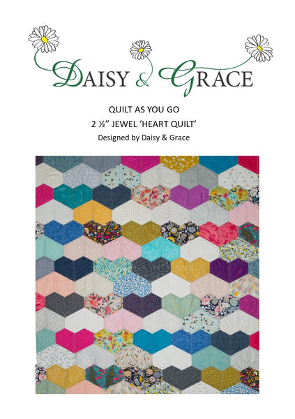 "2 1/2"" Jewel Quilt Pattern"