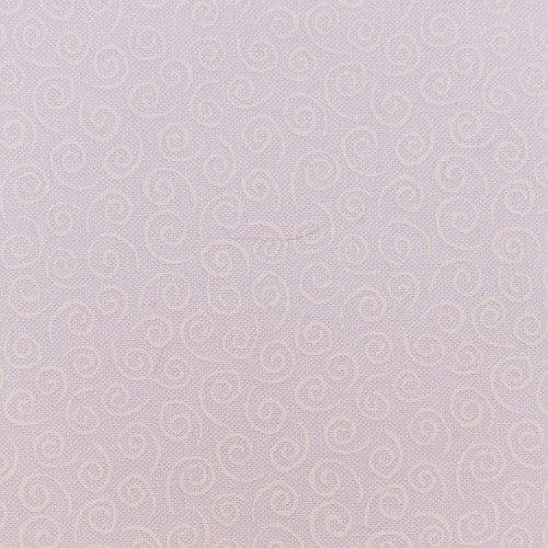 Moda Mini Swirls white on white