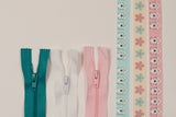 Project Pocket Set- Turquoise/ Pink/ White
