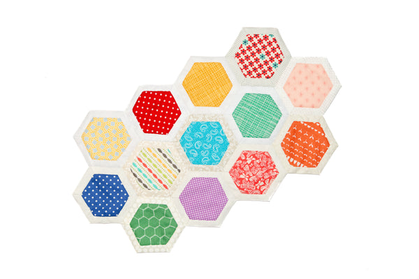 "Quilt As You Go Template - 1 1/4"" Hexagon"