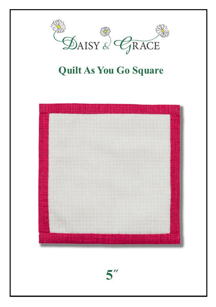 "QAYG 5"" Square template"
