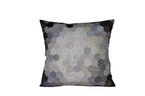 "3/4"" Hexagon Cushion Kit-Grey"