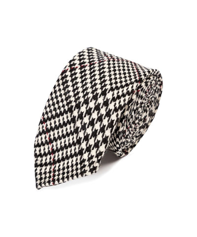 Classic Glen Check Wool Tie - Mr. Jenks