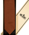 Rust Grenadine Silk Tie - Mr. Jenks