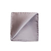 Lilac Grey Silk Pocket Square - Mr. Jenks