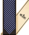 Navy and Light Blue Floral Tie - Mr. Jenks