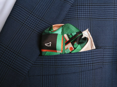 Pocket Squares - D For Dublin Silk Pocket Square