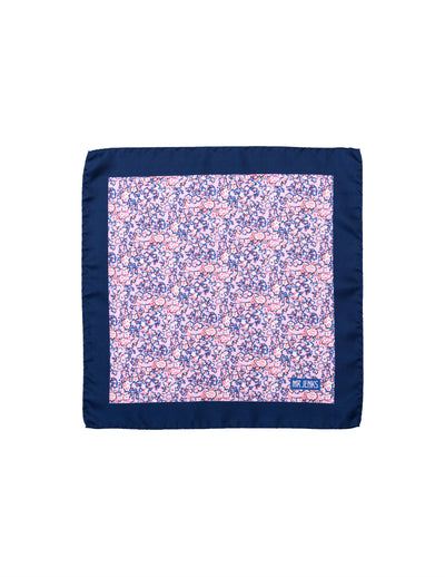 Pink Floral Pocket Square - Mr. Jenks