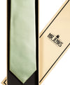 Mint Green Silk Satin Tie - Mr. Jenks