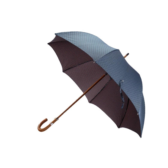 Blue and Orange Dot Umbrella - Mr. Jenks - 1