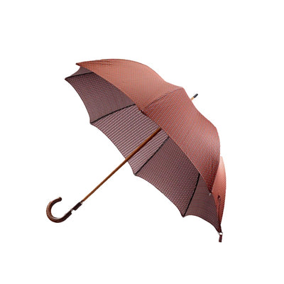Orange and Purple Floral Umbrella - Mr. Jenks