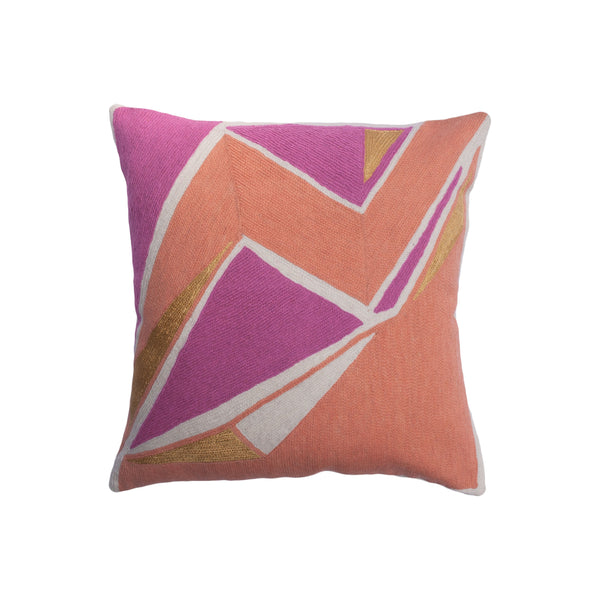 DETROIT PEACH PILLOW