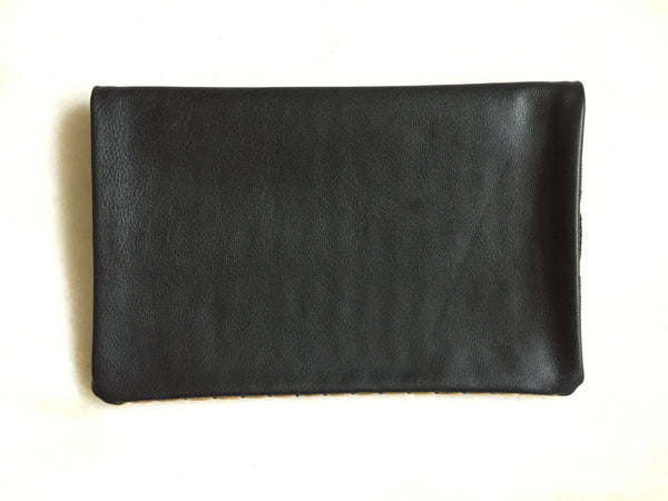 Black Clutch Purse Back
