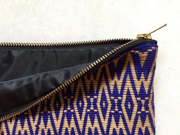 Indigo Clutch Purse