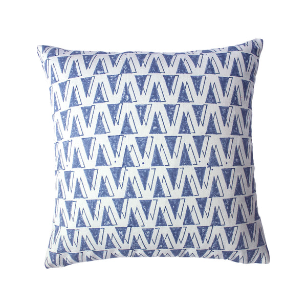 Block Printed Throw Pillow