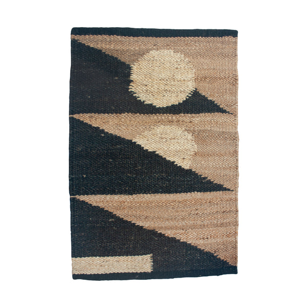 MARGEAUX TRIANGLES JUTE RUG