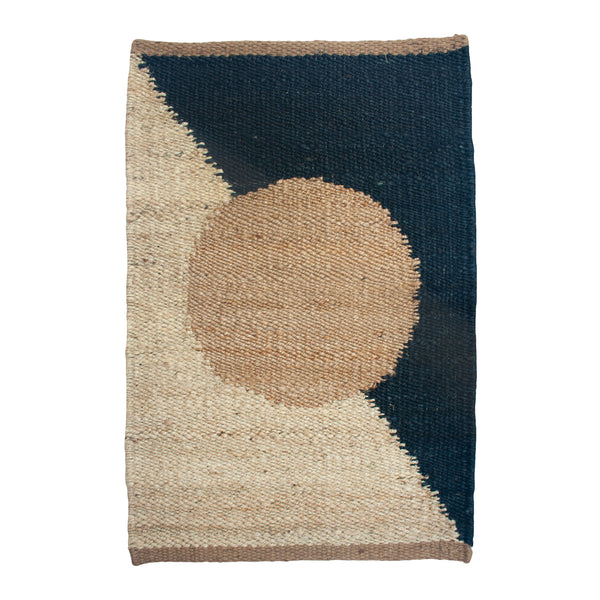 MARGEAUX CIRCLE JUTE RUG