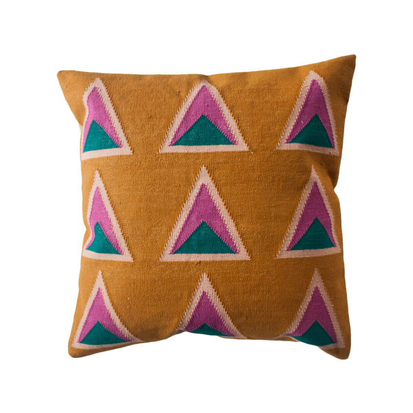 MAYA OCHRE PILLOW