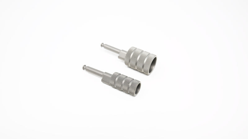 M1 / M2 / M3 / SBE I II III - 1/2'' and 3/4'' Diameter Finished Titanium Locking Charging Handle