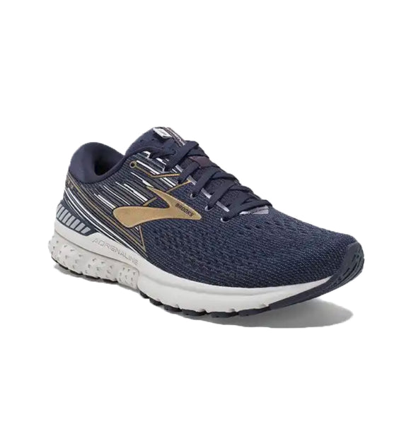 """BROOKS"" Men's Adrenaline GTS 19 Navy/Gold"