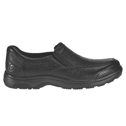 """DUNHAM"" Men's Batter Park Slip On (Black)"
