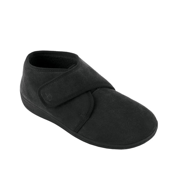 """BIOTIME"" Men's Ariel Slipper (Black) (9546482756)"