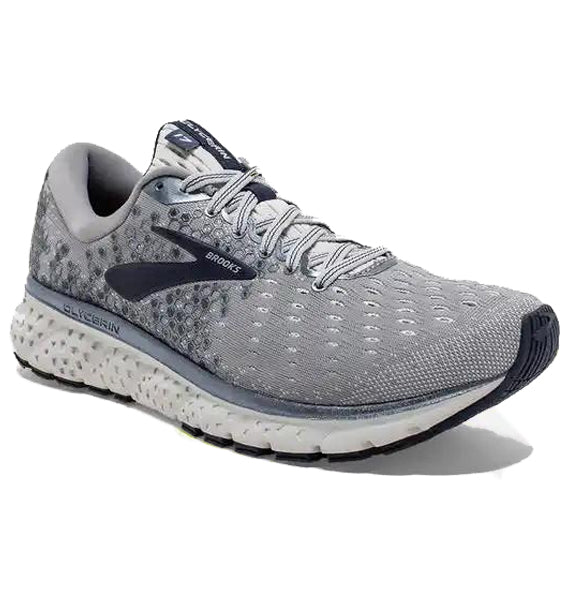 """BROOKS"" Men's Glycerin 17 (Grey/Navy)"