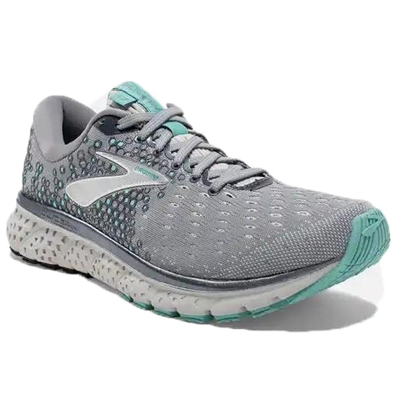 """BROOKS"" Women's Glycerin 17 (Grey/Aqua)"