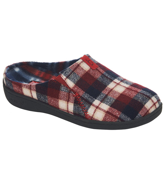 """BIOTIME"" Women's Emma Slipper (Red Plaid) (4282803191898)"
