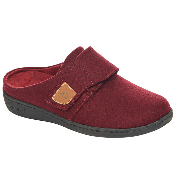 """BIOTIME"" Women's Amity Slipper (Wine) (4282810990682)"
