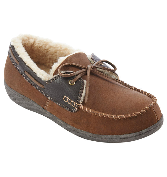 """BIOTIME"" Men's Hugh Slipper (Brown)"