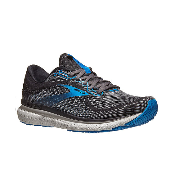 """BROOKS"" Men's Glycerin 18 (Black/Ebony/Blue)"