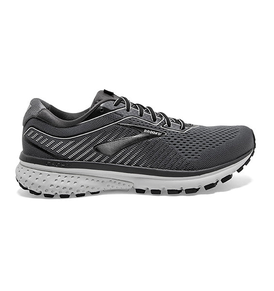 """BROOKS"" Men's Ghost 12 (Black/Pearl/Oyster)"