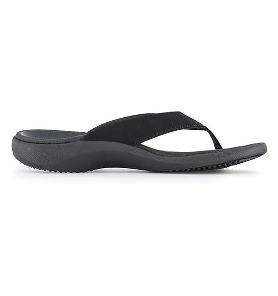 """SOLE"" Men's Catalina Flip (Black)"