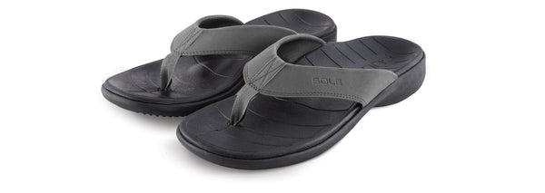 """SOLE"" Men's Catalina Flip (Grey)"
